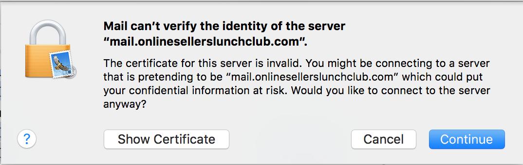 image Apple Mail verify